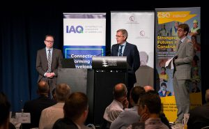 QMCA Breakfast - speakers